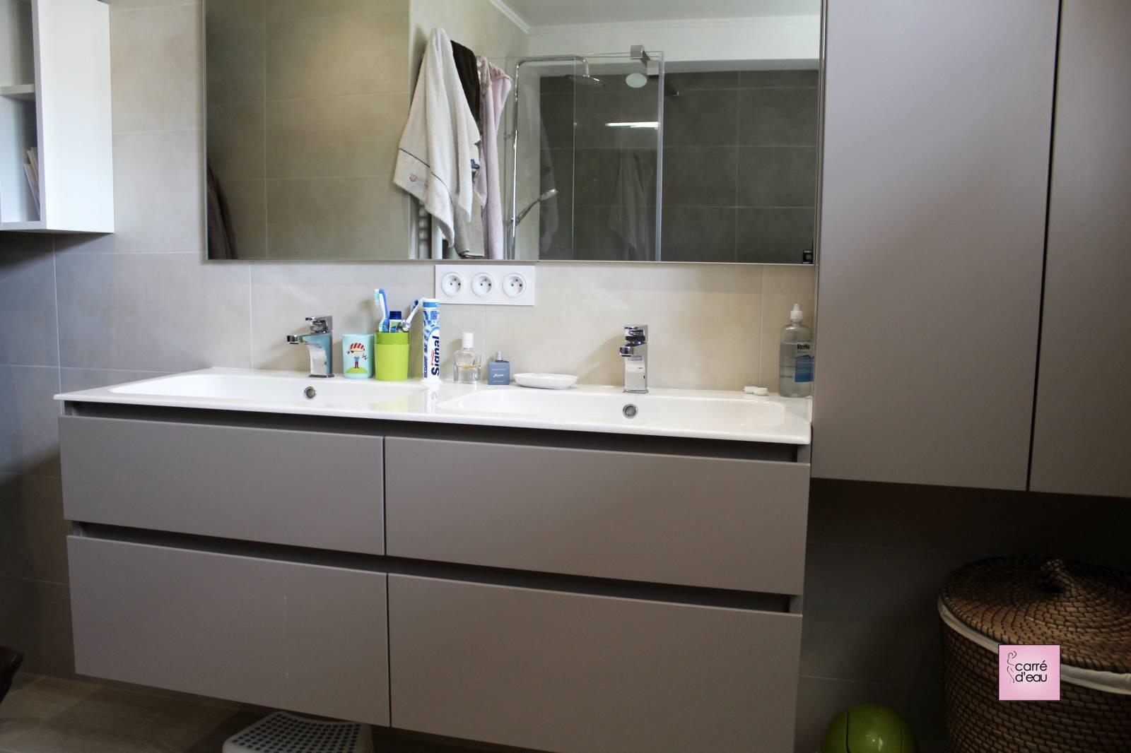Vasque D Angle De Salle De Bain quel mobilier choisir pour une salle de bain familiale de