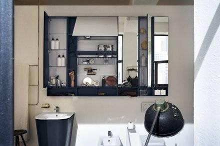 salle de bain style loft industriel à montpellier - carré d'eau - Salle De Bain Style Loft