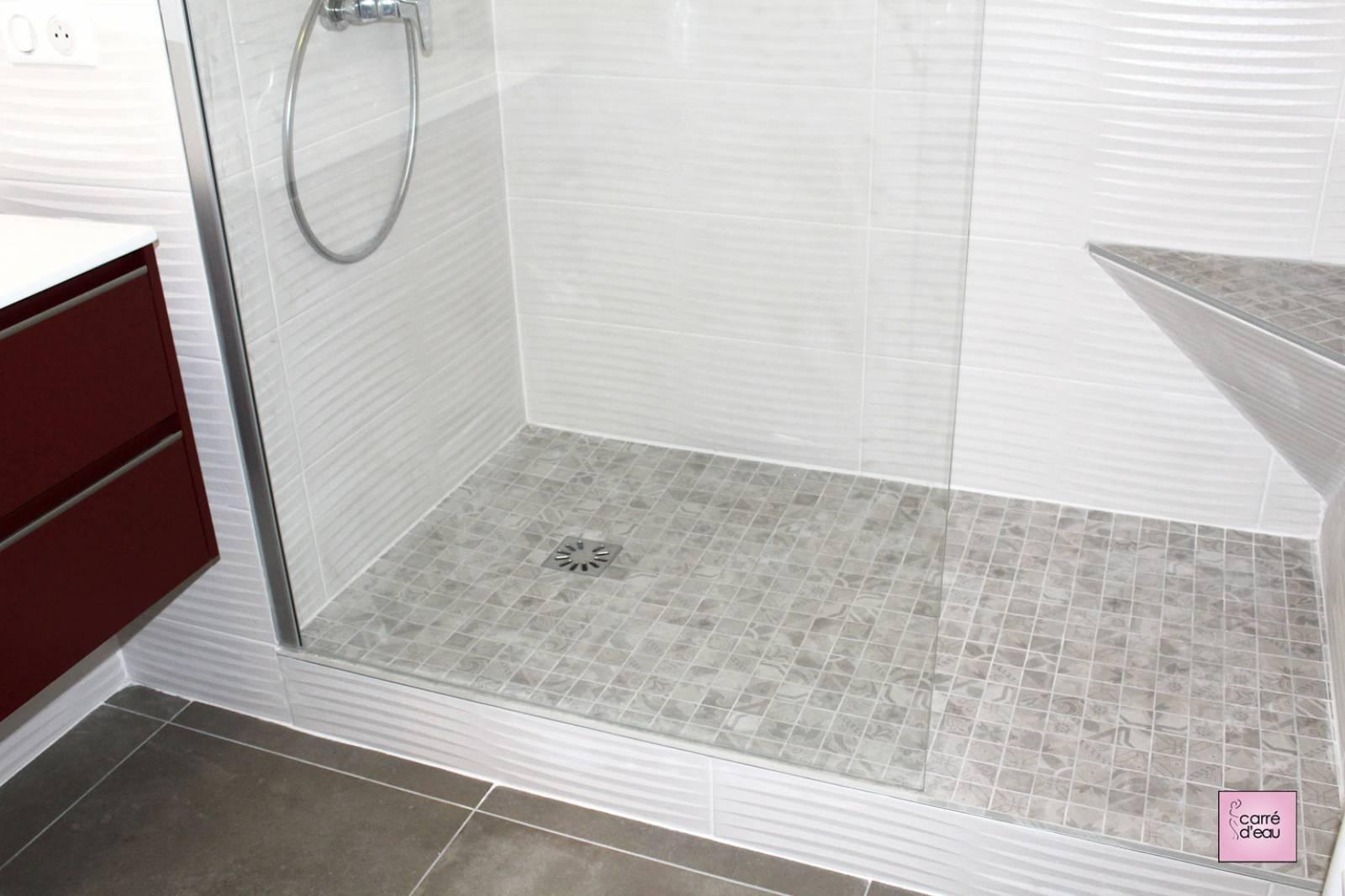 Salle De Bain Montpellier rénovation complète d'une salle de bain et d'un espace