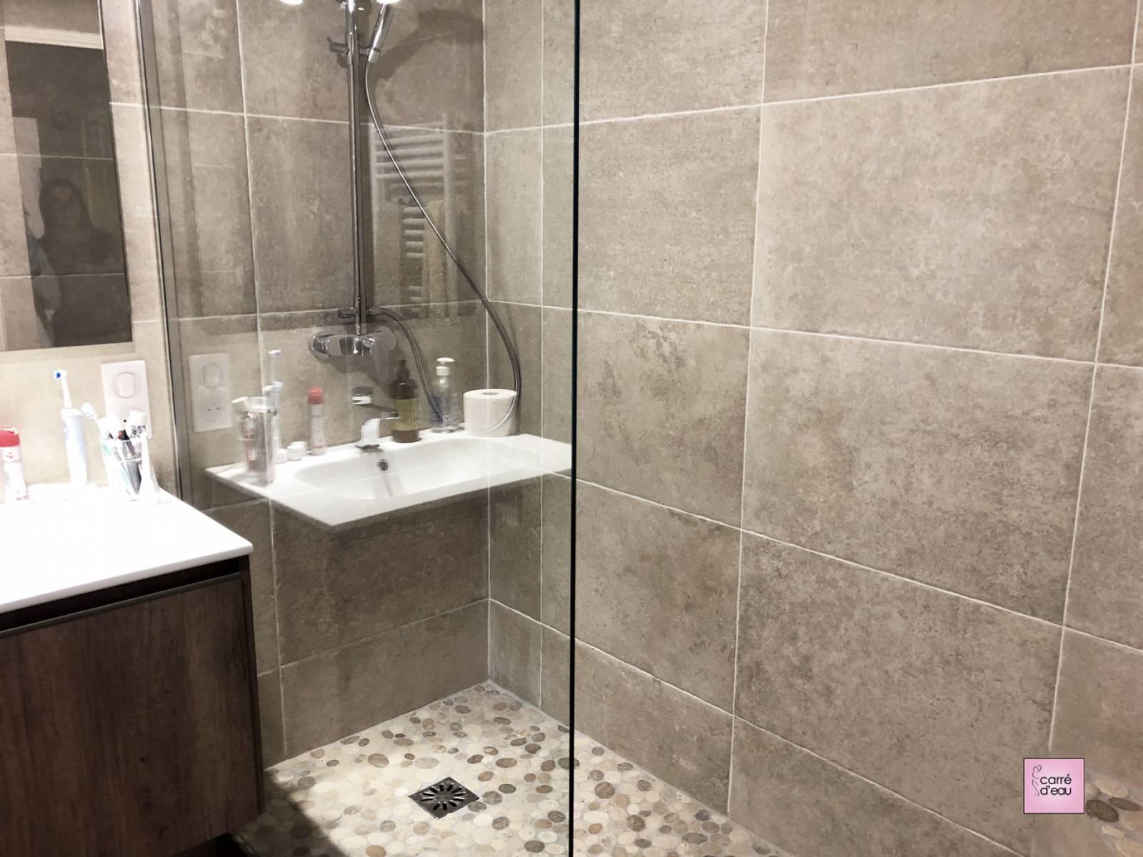 Salle de bain de 4m2 complète et confortable à Montpellier ...