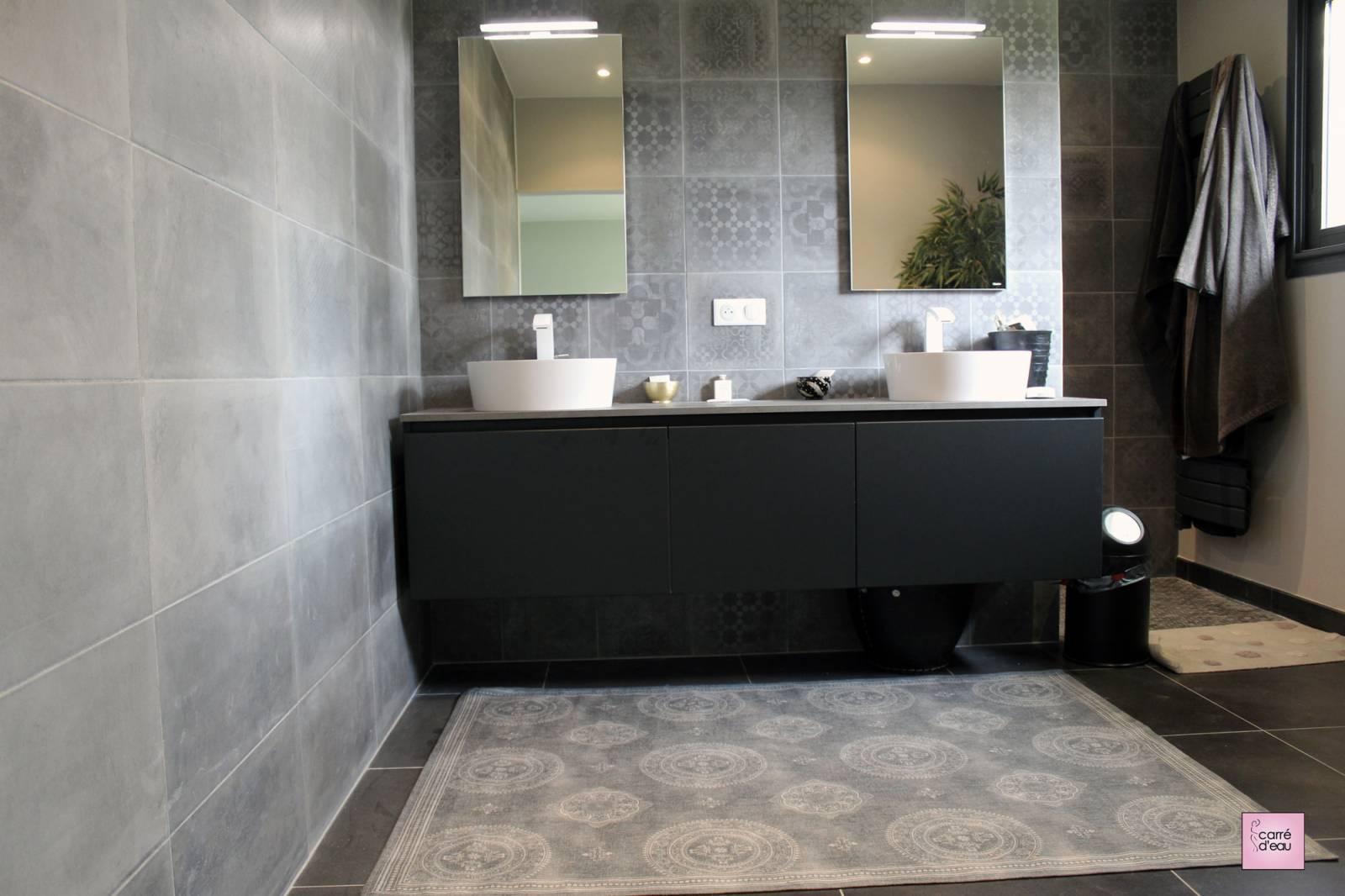 Salle D Eau Parentale rénovation d'une salle de bain dans une suite parentale à
