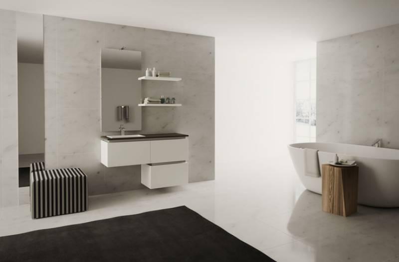 salle de bain contemporaine carr d 39 eau. Black Bedroom Furniture Sets. Home Design Ideas